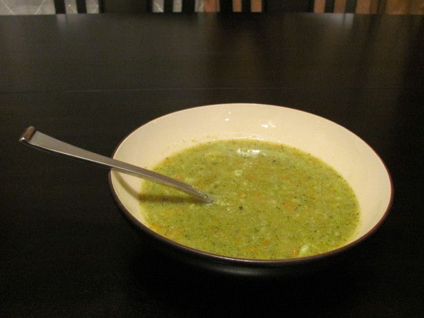 http://www.food.com/recipe/cauliflower-and-or-broccoli-soup-ww-0-point-soup-190835