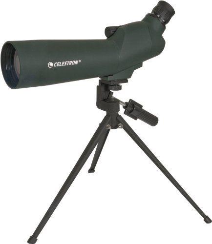 Celestron 60 mm Zoom - 45° Spotting Scope Telescope - http://www.binocularscopeoptics.com/celestron-60-mm-zoom-45-spotting-scope-telescope/