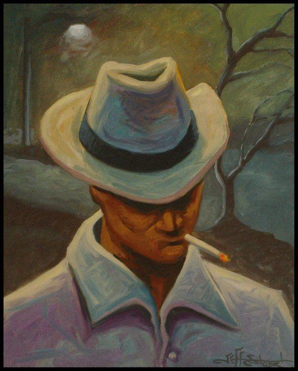 Smoking Man by Jeff Stewart