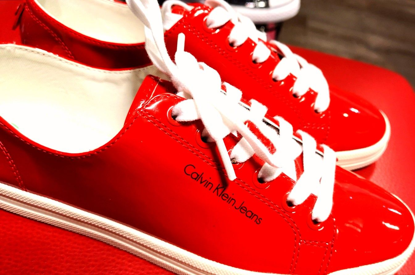 Red Sneakers from Calvin Klein Love