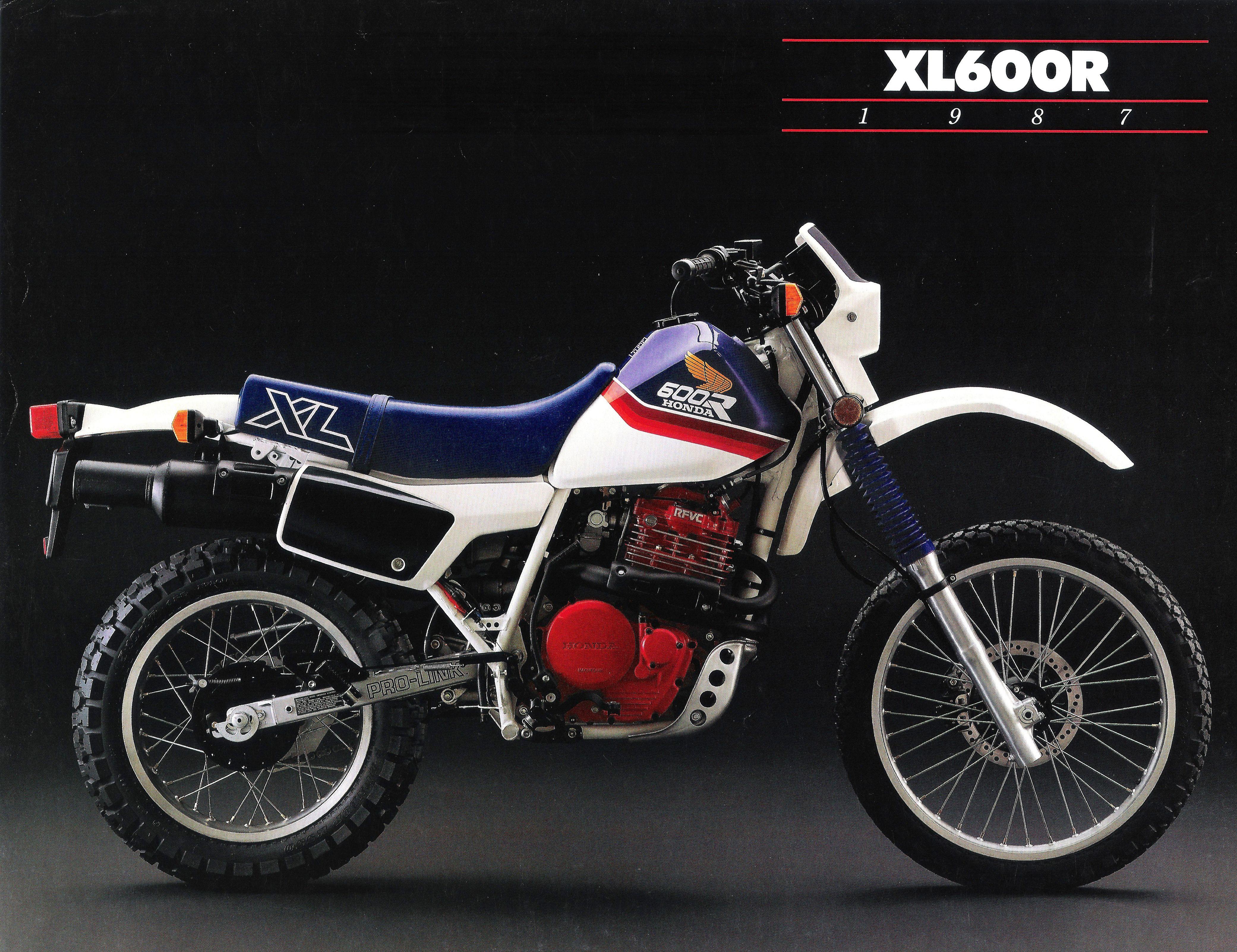 Honda Xl 600r Enduro Motorcycle Honda Honda Dirt Bike