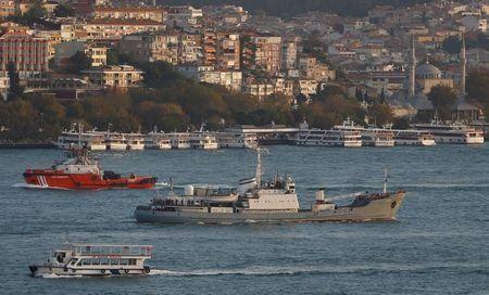 Russia deploys warships near Crimea for Ukrainian missile tests: RIA