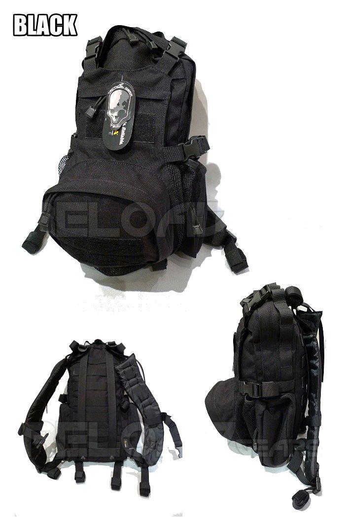 TMC MOLLE Kangaroo Pack (Black) - light detachable tier ...