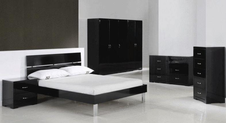 Well Formed Black Gloss Furniture | Furniture | Grey bedroom ...