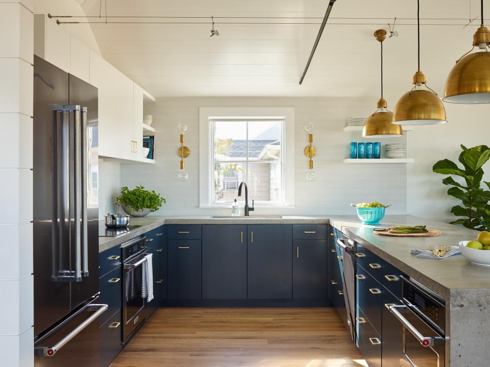 See 75+ Stylish Small Kitchen Designs | HGTV | Small ...