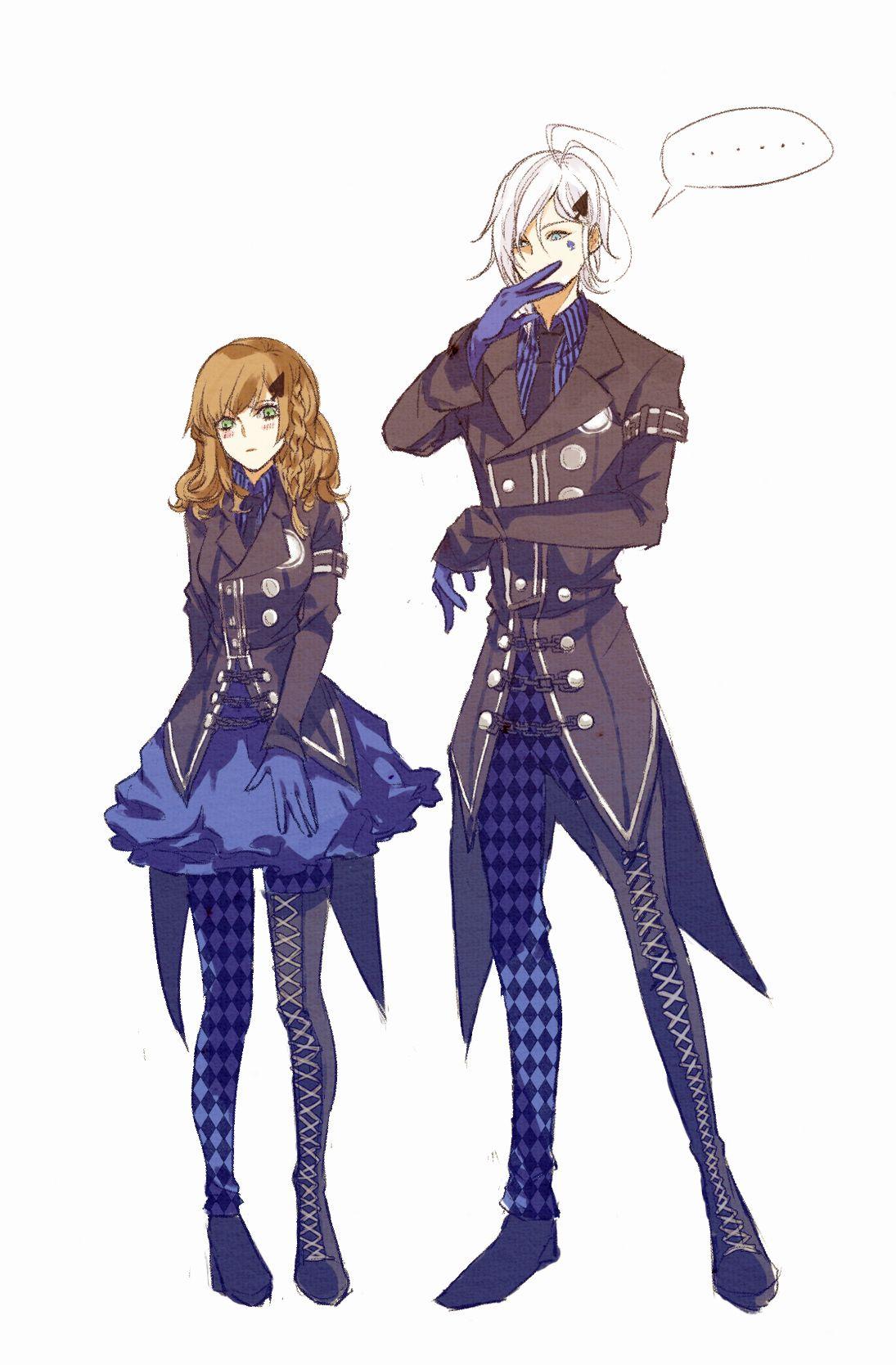 Amnesia Ikki and Heroine Anime Couples Pinterest