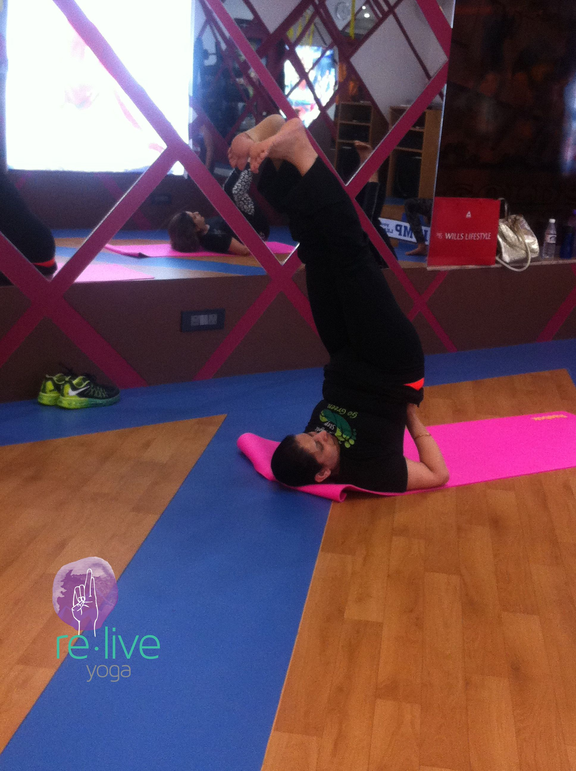 Pin by Re.liveyoga on Free Yoga Session Gold's Gym (2nd