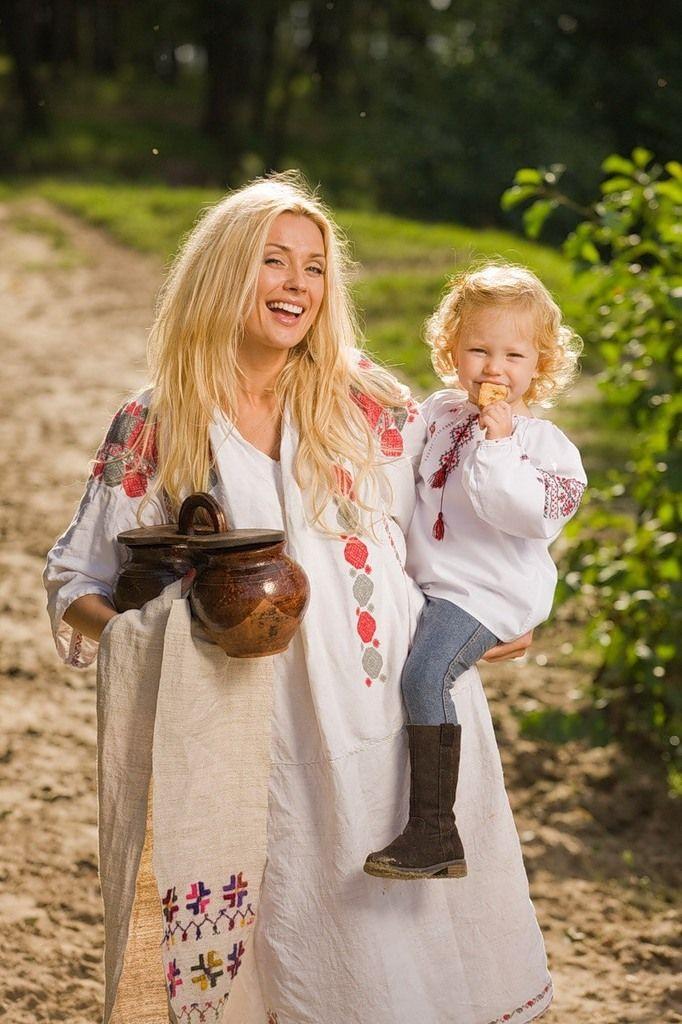 Мать и дитя славянские картинки