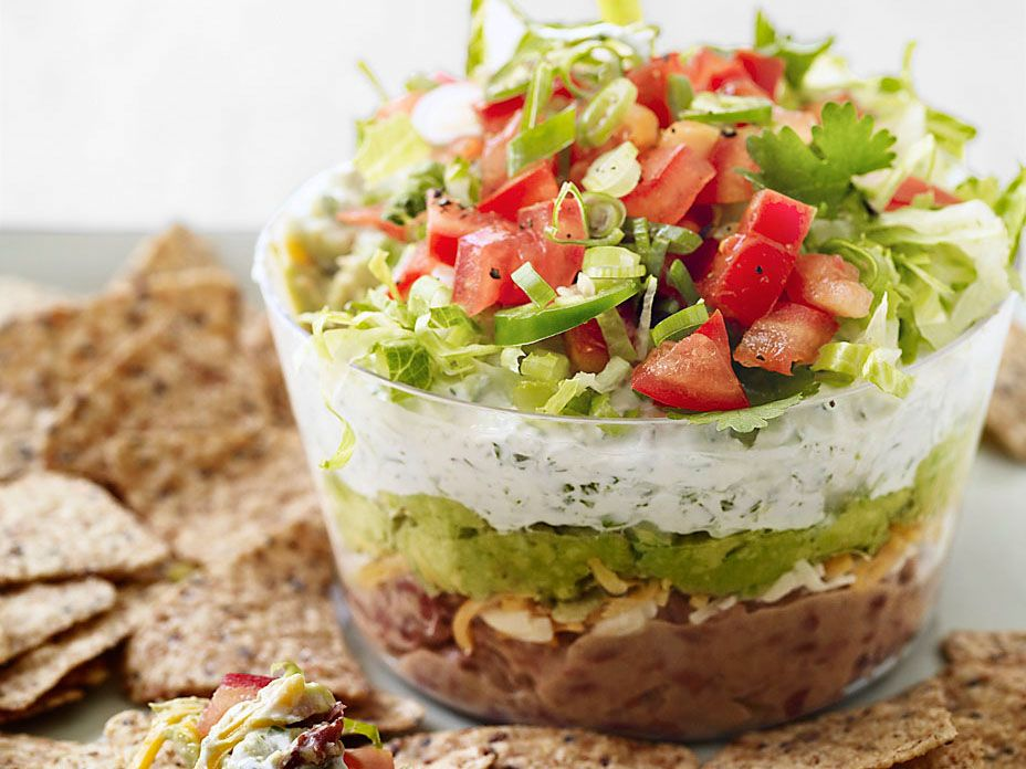 Slim Six-Layer Dip from FoodNetwork.com