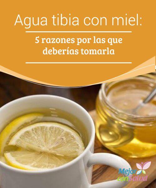 Limon miel y agua tibia para adelgazar