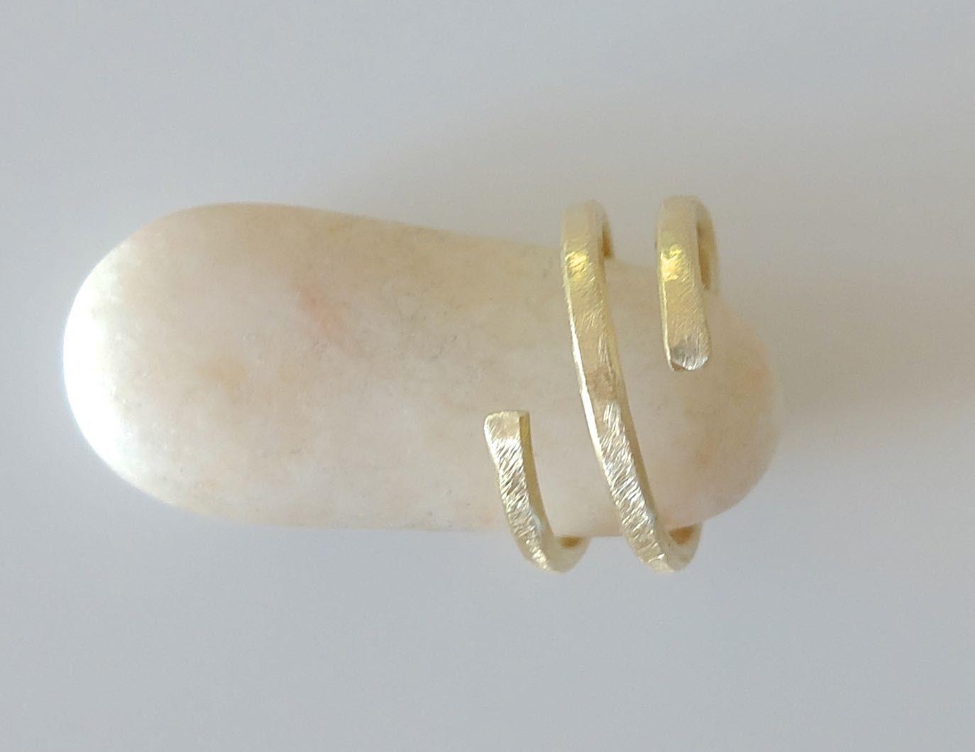 Handgemachter Schmuck,Messing-Ring \