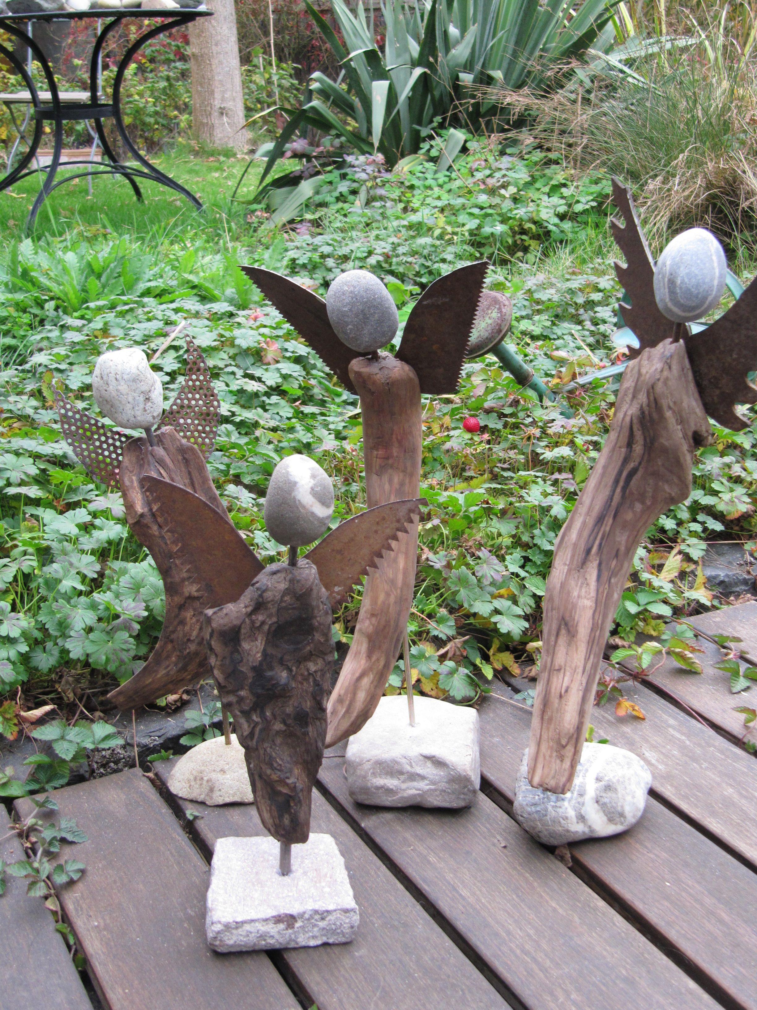 Schön Gartendeko Basteln Naturmaterialien Design