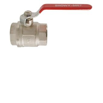 Showy Red Long Handle F F Ball Valve 1 1 2 5057 Long Handles Ball Valve