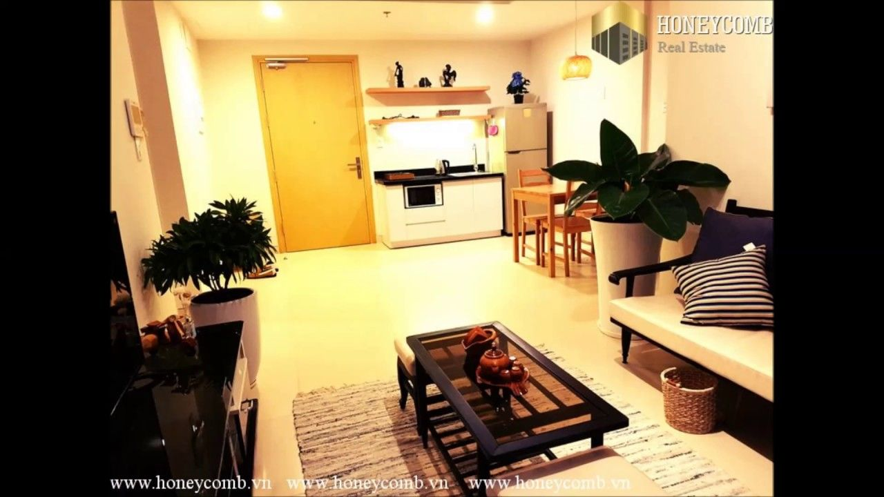 1 bedroom with loft for rent  Masteri Thao Dien  bedroom apartment for rent  honeycomb vn