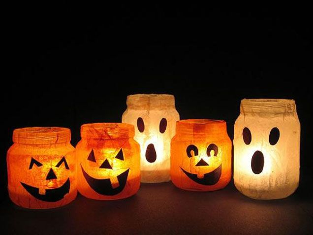 Easy Halloween crafts for kids Why bother buying all the - halloween crafts decorations