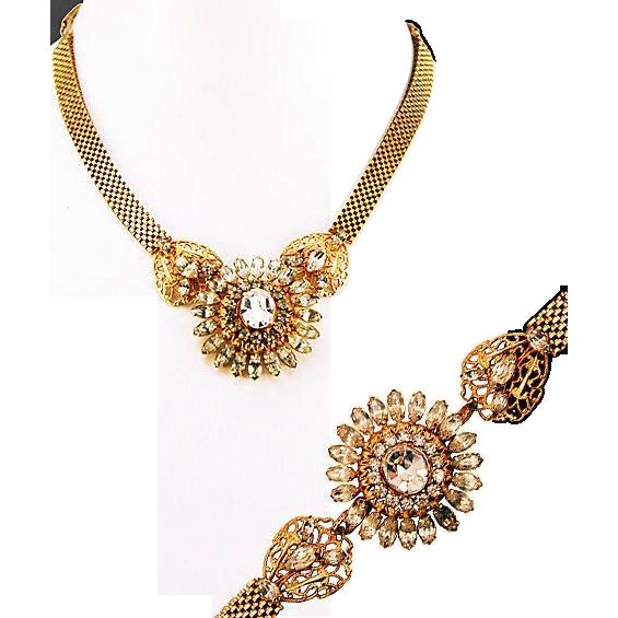 Stunning 12K Gold Filled Amethyst Bracelet.7 34