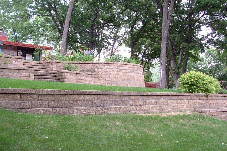 Garden Retaining Wall Ideas Retaining Wall Landscaping Landscaping Retaining Walls Landscape Design Retaining Wall