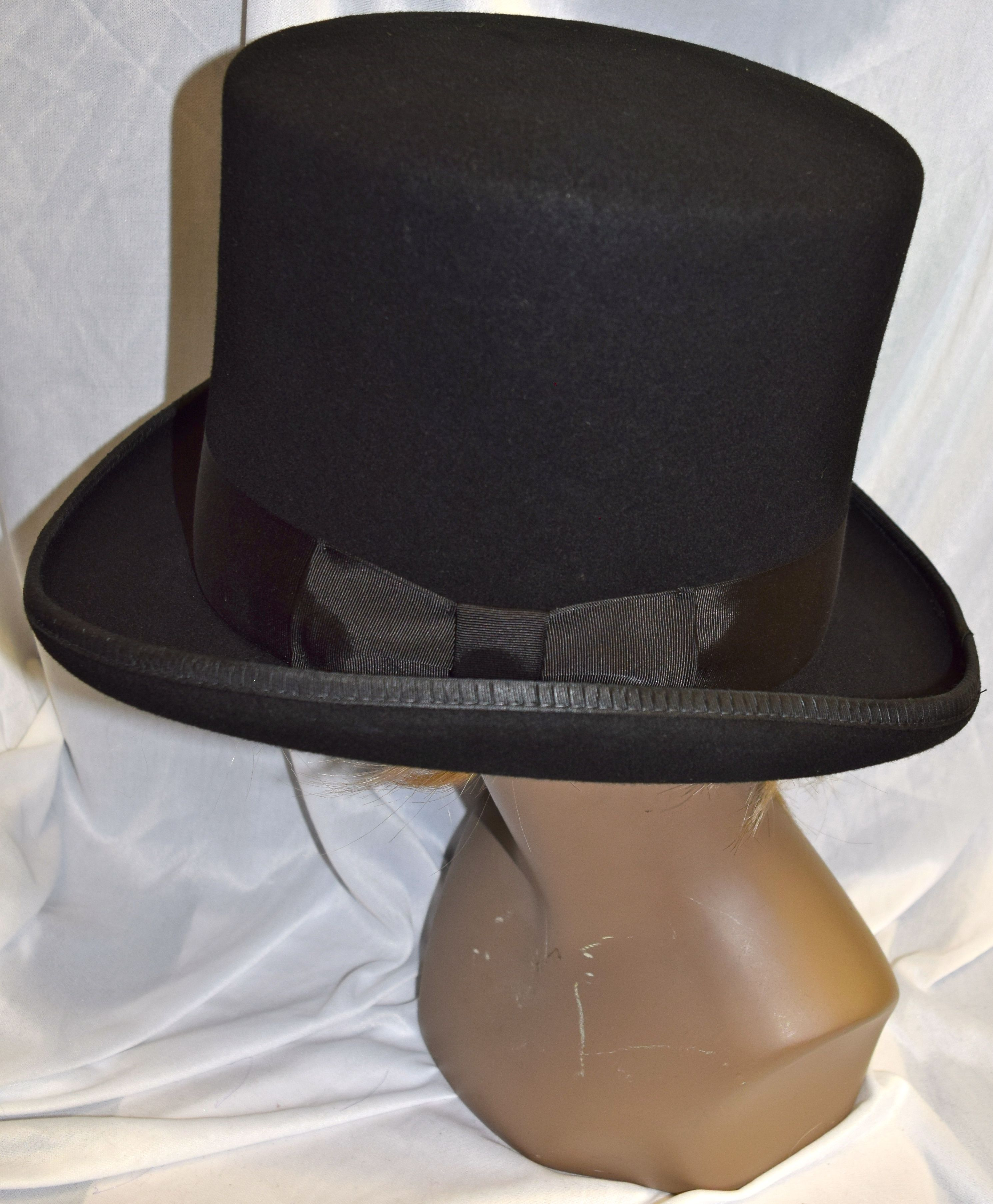 be9e1693a5b Deluxe High Quality Coachman Top Hat Black