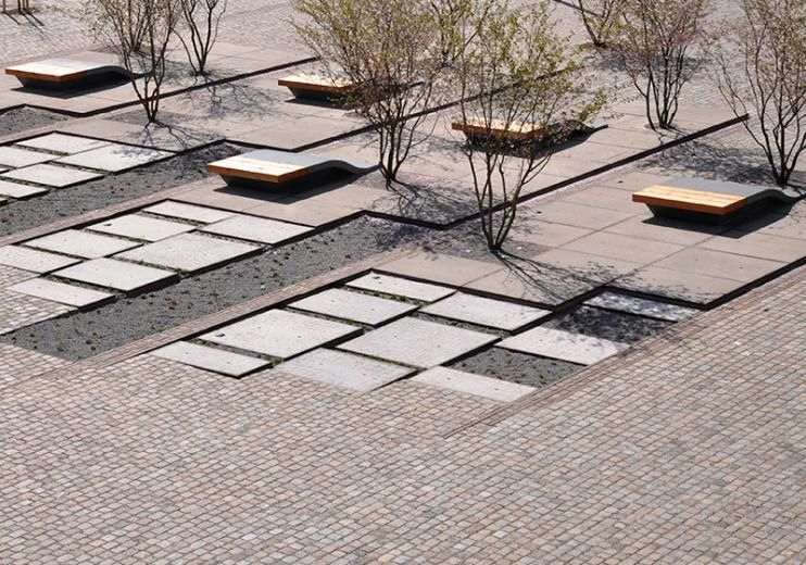 atelier dreiseitl \/ zollhallen plaza, freiburg Landscape