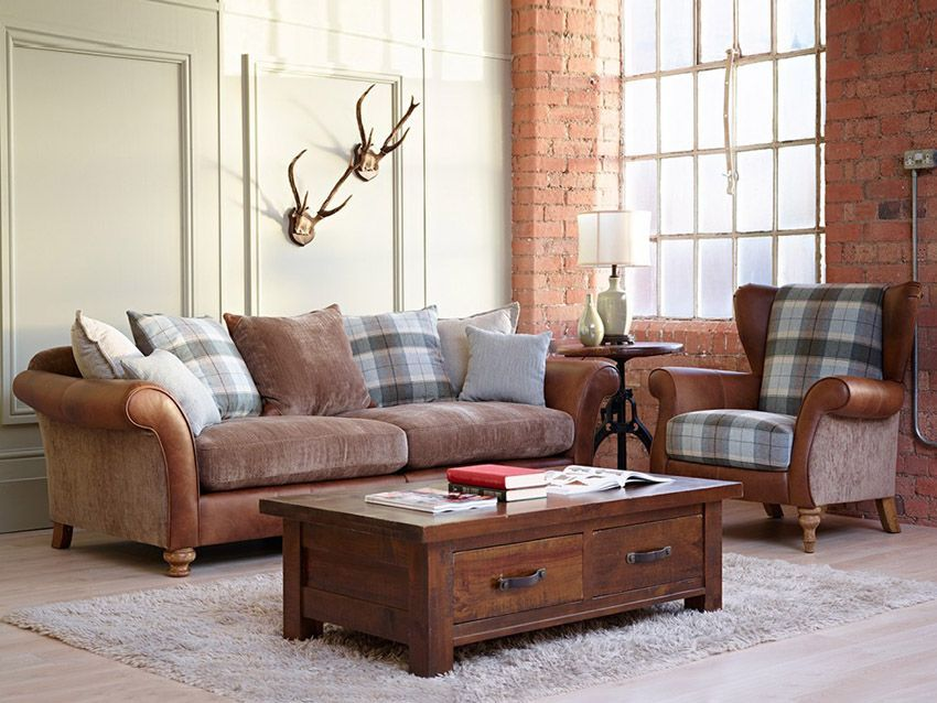 LONGROW   The Longrow Sofa Collection Is A Fantastic Combination Of Natural  Waxed Leather, Stunning
