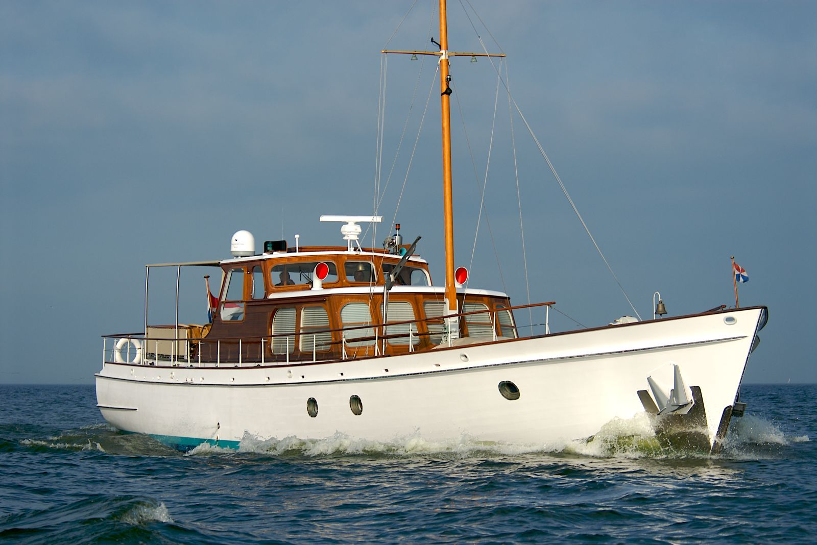 Atalanta 82 39 feadship motor yacht built in 1958 and for Vintage motor yachts for sale