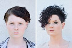 Luftgetrocknete Dauerwellen Frisuren In 2019 Kurze Haare