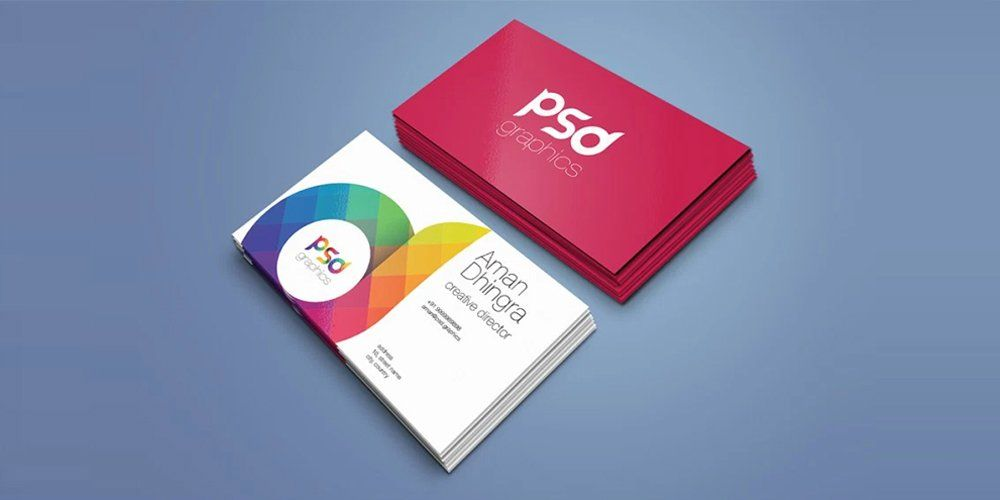 Free Business Card Mockup Template Psd Places To Visit Business