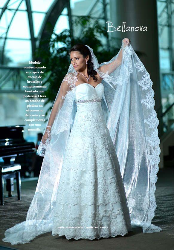vestido: www.bellanovanovia.pe novia: yamil caceres | vestido de