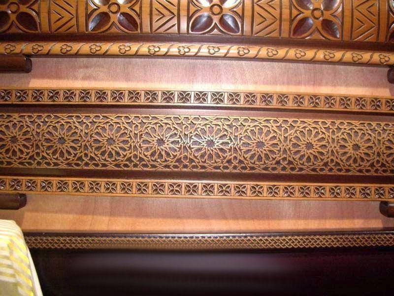 Fabriquer banquette en bois pour salon marocain | FACADES BANQUETTE ...