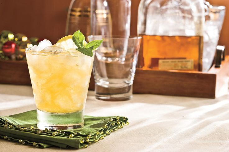 21 Southern Bourbon Cocktails - Adult Drinks -