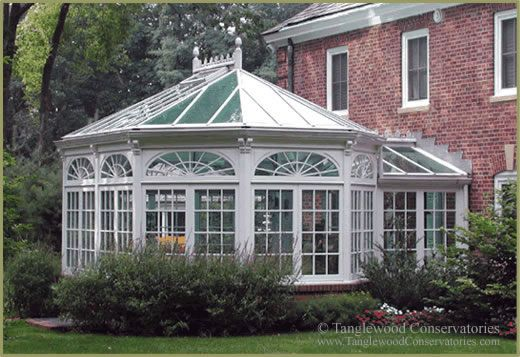 Conservatories sunny spaces on pinterest greenhouses for House plans with conservatory