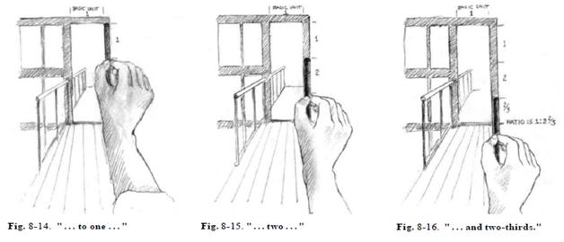 чего стоит как измерить карандашом сложную картинку были напуганы