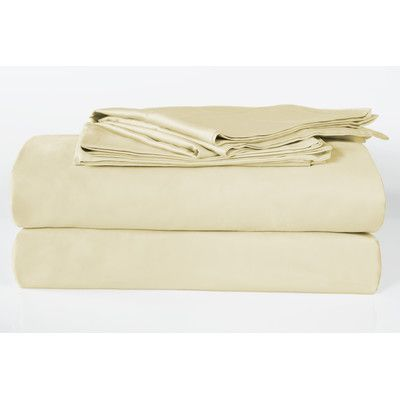 next creations banyan 325 thread count 100 organic cotton sheet set