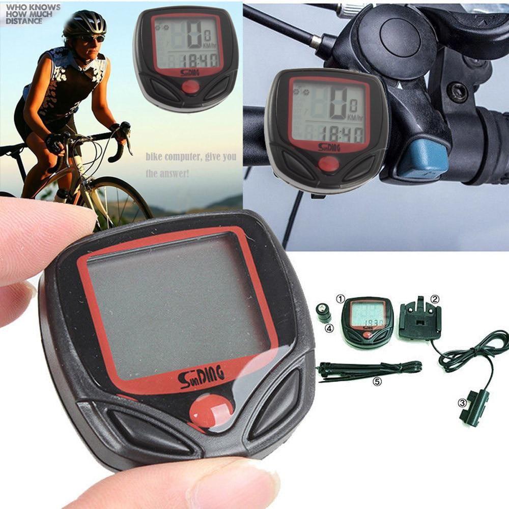Waterproof Bicycle Bike Cycle Lcd Display Digital Computer