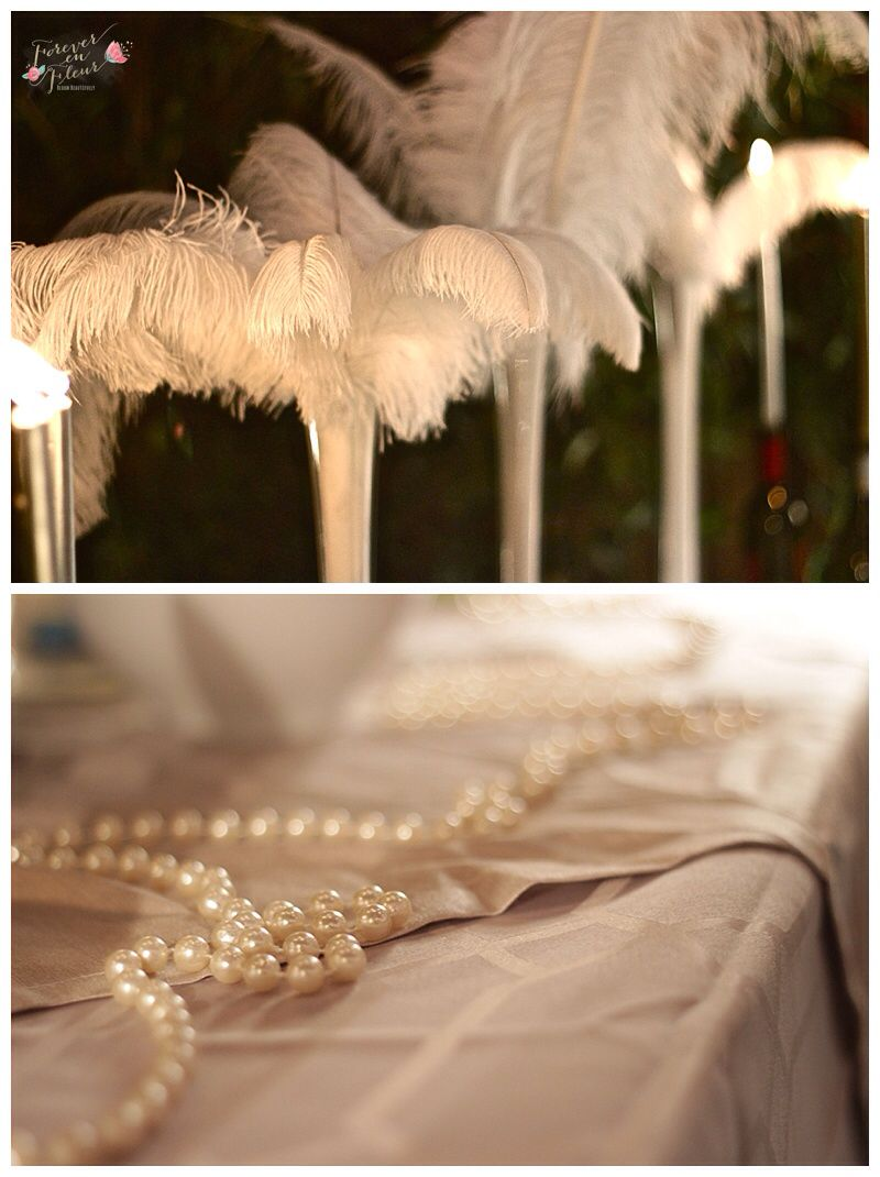 Feathers and pearls