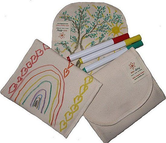 Color Your Own Snack Ditty ($13): Sending an eco-friendly/zero-waste lunch? Eco-Ditty's Color Your Own Snack Ditty can be drawn on again, and again, so a personal note can make its way into the lunch, without creating any extra trash!