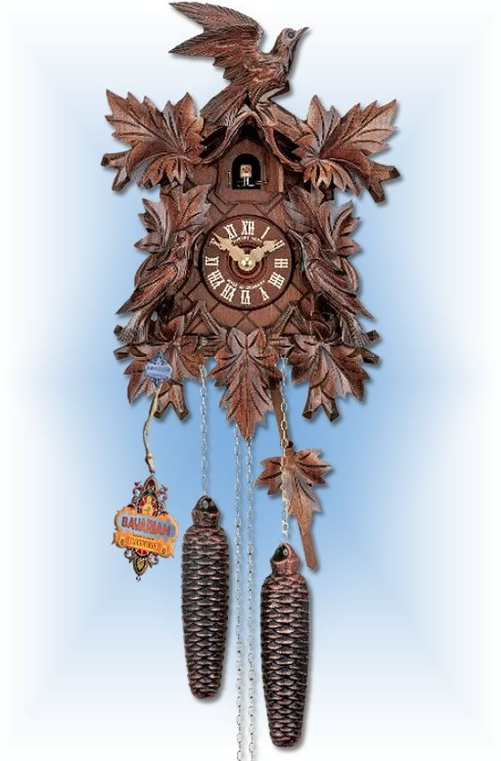 Hubert Herr Three Bird Cuckoo Clock 14