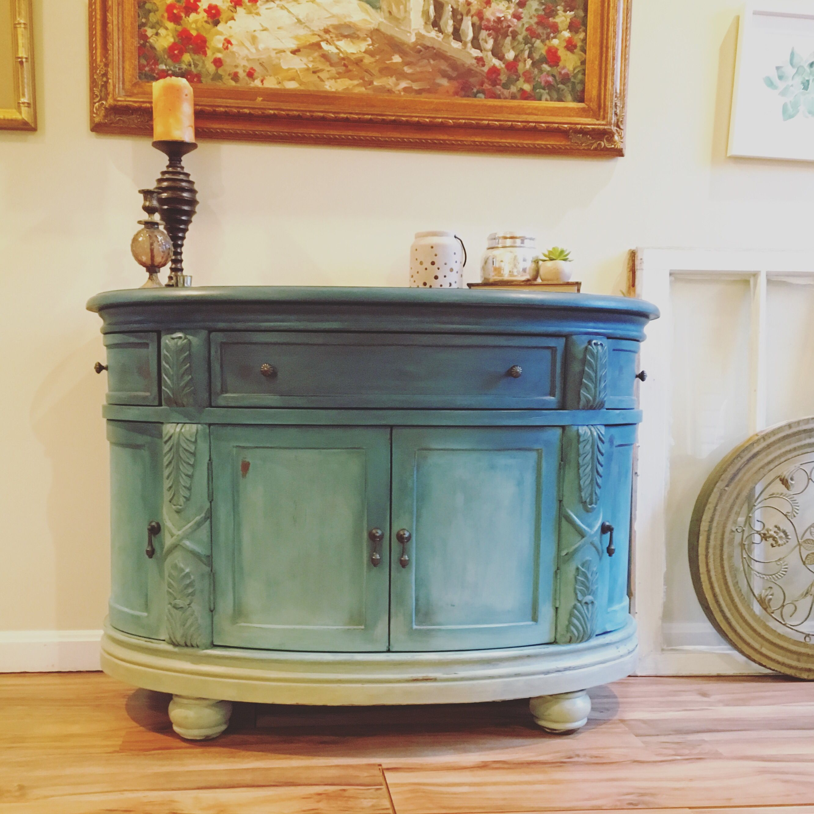 this chest sat in my house for months i finally painted on paint colors designers use id=80792