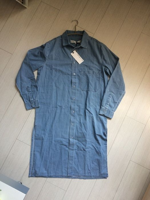 f67200b3c50 Robe tissu couleur jean