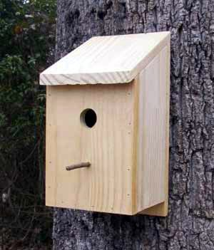 Swing bed patterns free woodworking plans bird house for Simple birdhouse