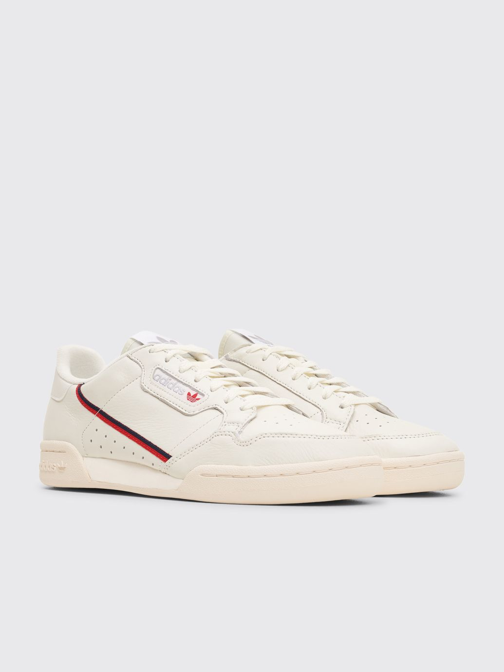 Tres Bien Adidas Originals Continental 80 Rascal White Tint Off White Scarlet Leather Heels Adidas Sports Brands