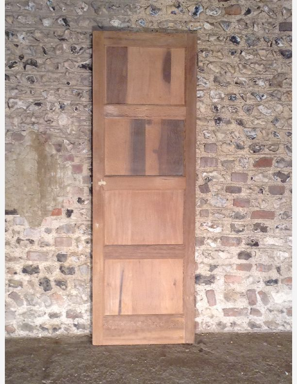 498 - A 1920s Period 4 Panel Pine Door & 498 - A 1920s Period 4 Panel Pine Door | Historic doors | Pinterest ...