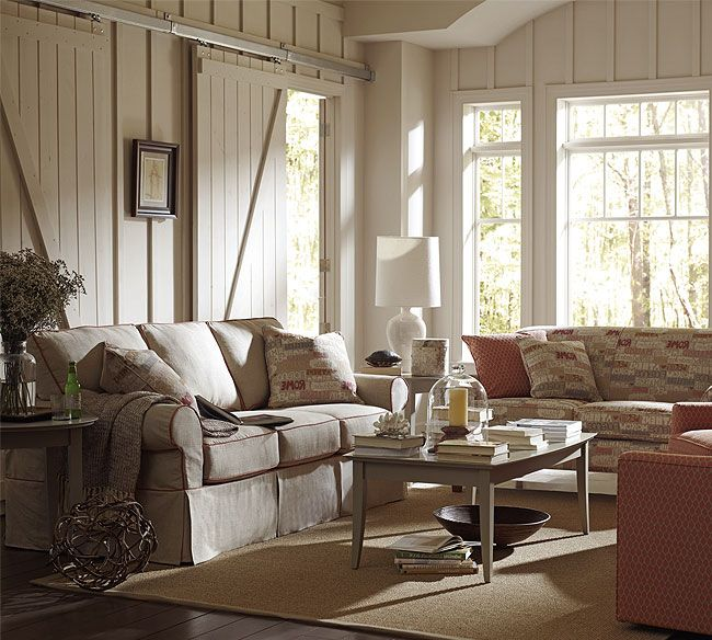Nantucket A910 Slipcovered Sofa Collection Rowe New