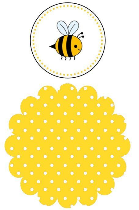 Perfect For A First Birthday Toddler Or Baby Shower This Cute Bee Theme