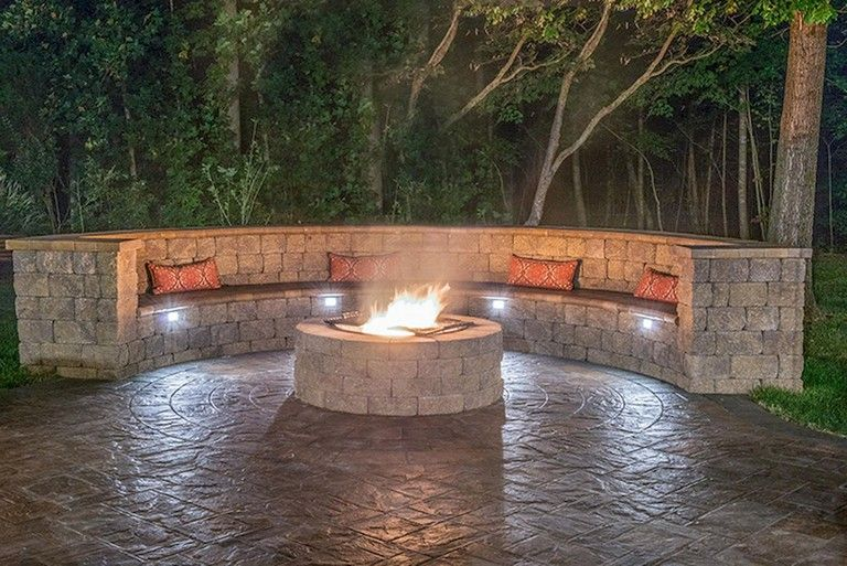 Photo of 55+ Amazing Backyard Fire Pit Ideas and Designs