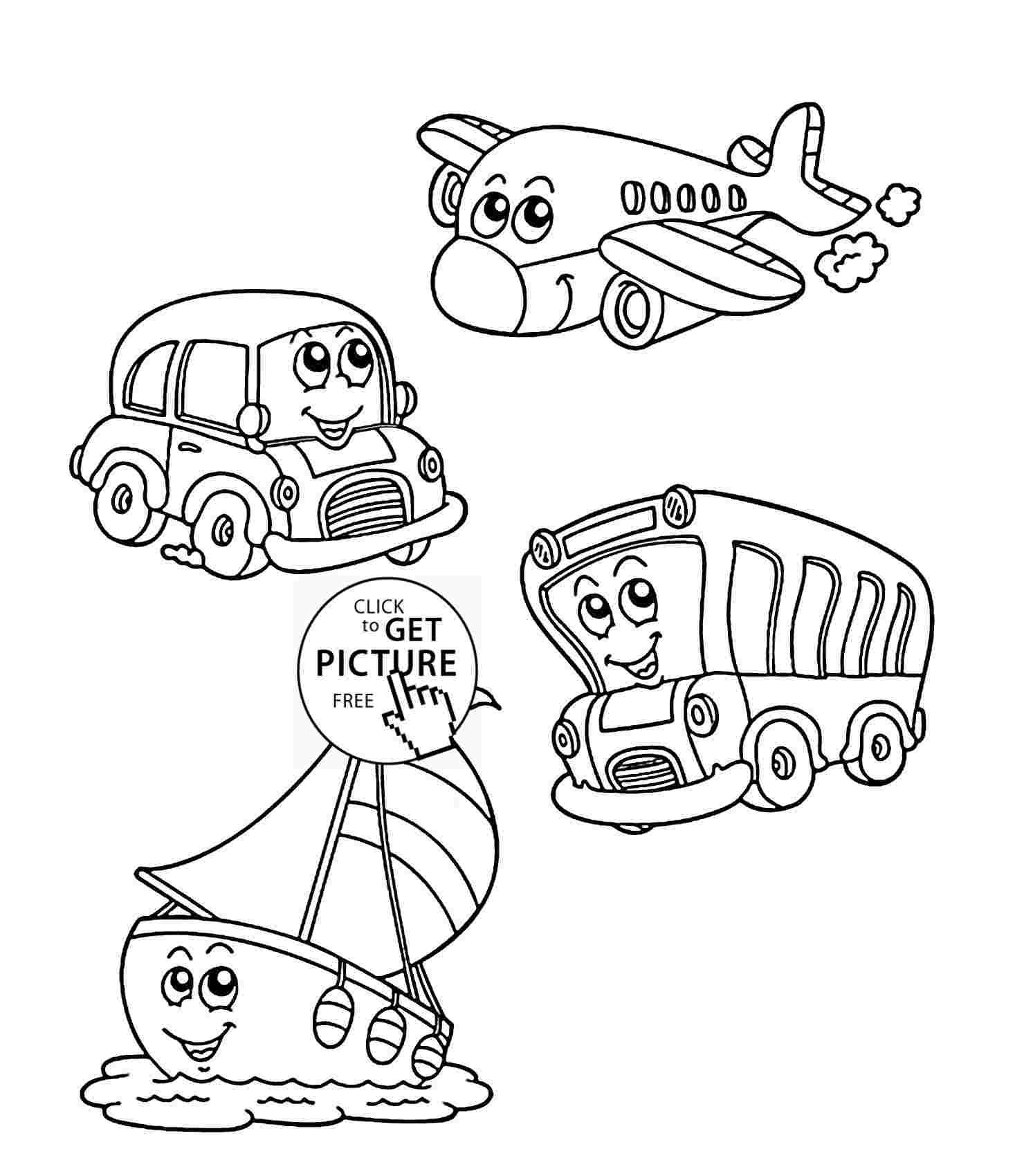 Transportation Coloring Book Pages Coloring Book Pages Coloring Pages Coloring Books