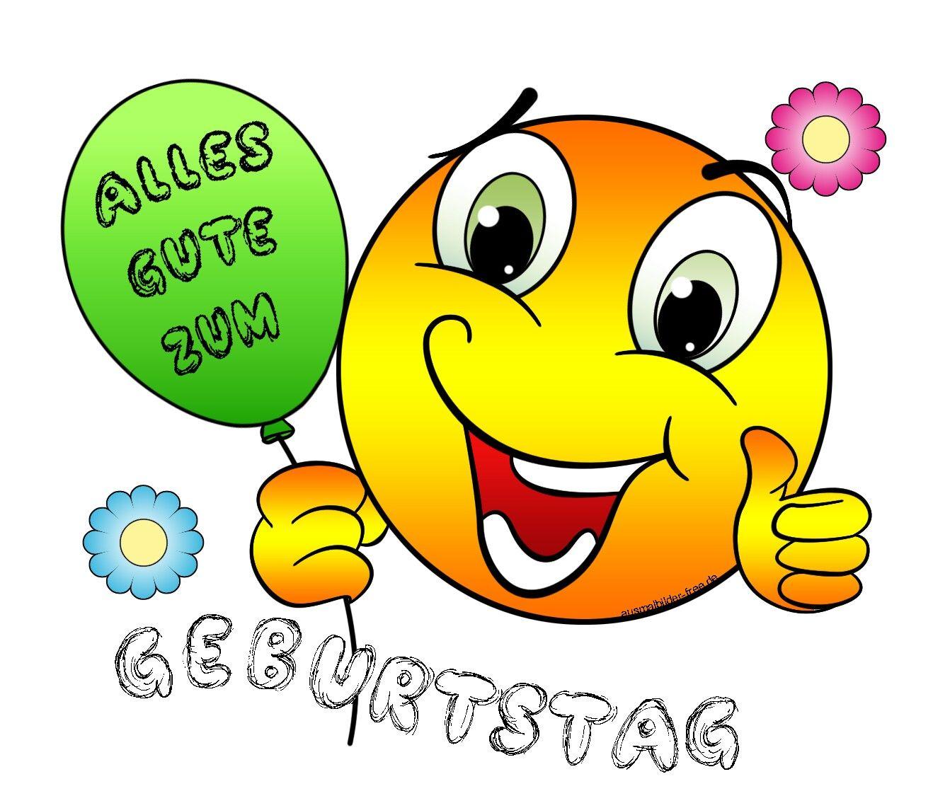 Pin Von Inge Delling Auf Emoji Verse Zum Geburtstag