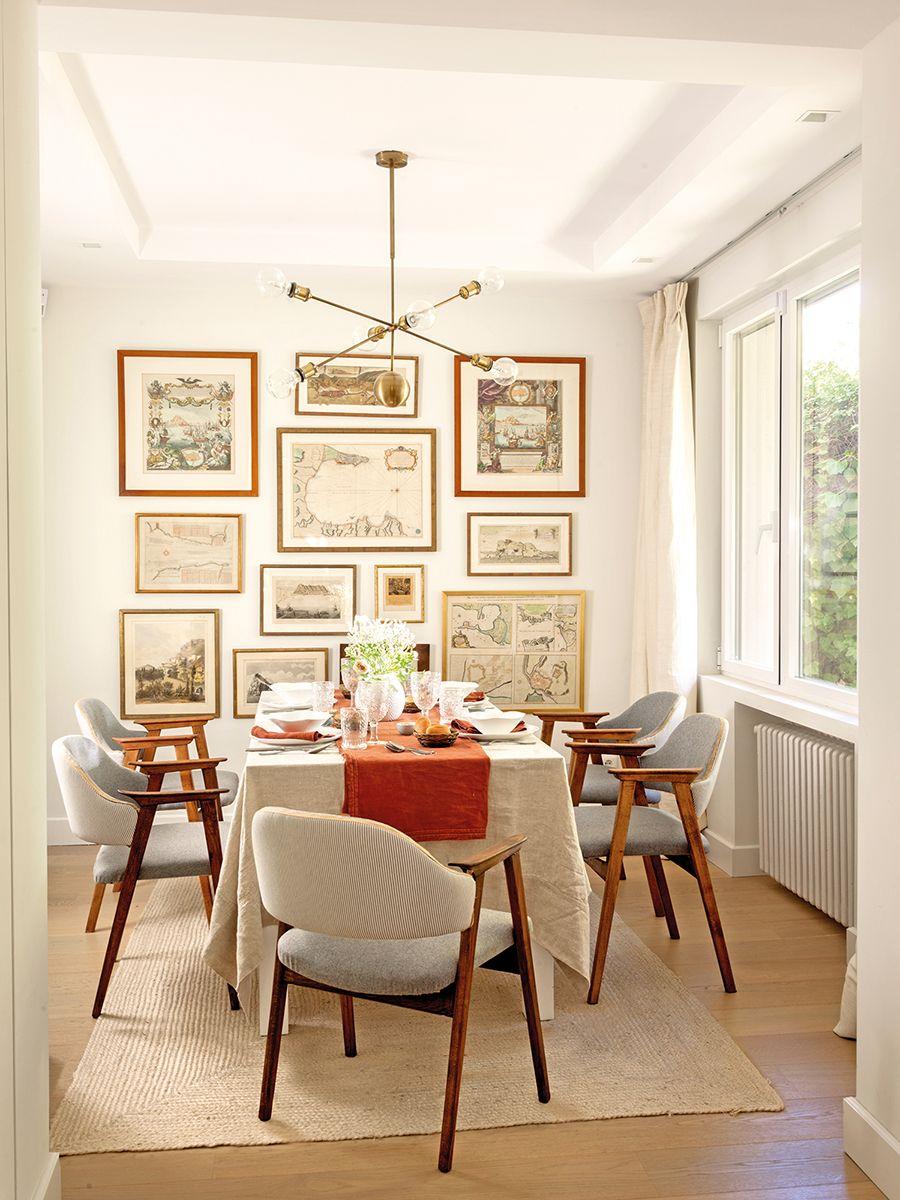 Decora al estilo Mid Century Modern. Mesa y sillas de comedor ...