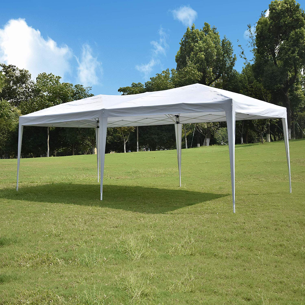Amazon Com 10 X20 Pop Up Canopy Tent Outdoor Canopy Tent Waterproof Gazebo Portable Wedding Party Te Canopy Tent Outdoor Canopy Outdoor Pop Up Canopy Tent