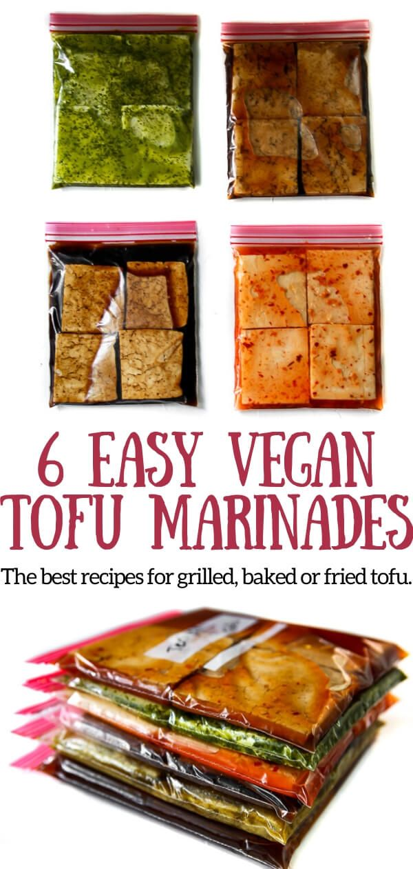 Tofu Marinade For Baking, Grilling, and Stir Fries - The Hidden Veggies